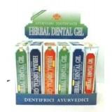 Herbal Dental Gel AYURVEDICO Dentifricio al Carbone Attivo
