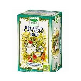 Araquelle - Romon Nature - INFUSI FUNZIONALI BIO - BRUCIA GRASSI Bruleur Capitons Bio Anticellulite - 20 Filtri