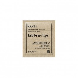 Maschera Labbra LOOM con bava di lumaca e cellule staminali di mela - Bioearth