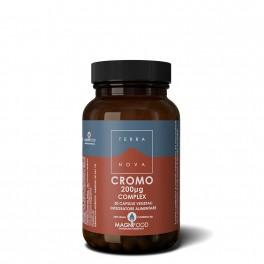 Cromo, 200ug Complex Magnifood - livello di glucosio nel sangue, per un corretto metabolismo dei macronutrienti  - Terranova