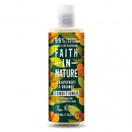 Balsamo Grapefruit Orange (Pompelmo e Arancio), 400 ml - Faith in Nature