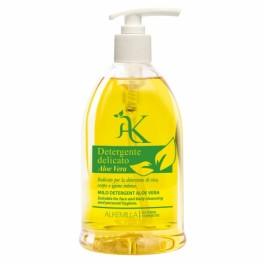 Detergente Delicato Aloe Vera Alkemilla - detergente corpo e intimo rinfrescante e lenitivo, 500 ml