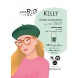 Kelly maschera viso peel off per pelli secche al Latte di Spirulina  - PUROBIO
