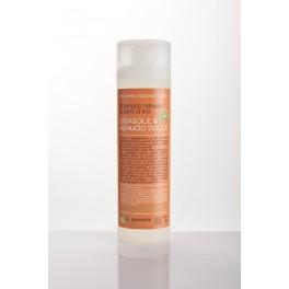 Shampoo naturale GIRASOLE e ARANCIO DOLCE La Saponaria - per capelli secchi