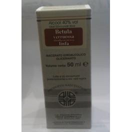 Linfa di Betulla  Larix - idroalcolico di betulla, drenante, linfodrenante e anticellulite, 50 ml
